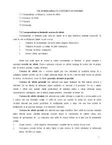 Scrisoarea cu conținut economic - Pagina 1