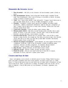 Curs Access - Pagina 2