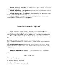 Indicatorii de evaluare a actiunilor - Pagina 5