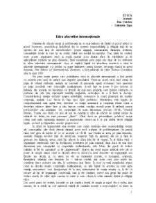 Suport curs Etica I - Pagina 1