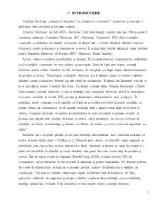 Rolul si avantajele comertului electronic (online) - Pagina 2