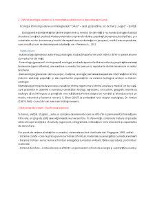 Sinteza examen ecologie anul 1, semestrul II agricultura - Pagina 1