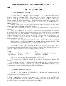 Elemente de inteligență artificială - Pagina 1