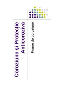 Coroziune și Protecție Anticorozivă - Pagina 1