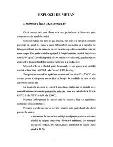 Explozii de metan - Pagina 1