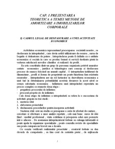 Metode de Contabilitate a Imobilizarilor Corporale, Necesitati, Rol si Importanta - Pagina 5