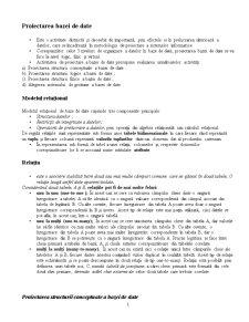Proiectarea de Detaliu a Sistemelor Informatice - Pagina 1