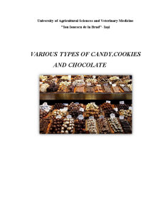 Various types of candy, cookies and chocolate - Pagina 1