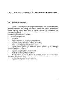 Pachete de programe specializate - SAGA C - Pagina 4