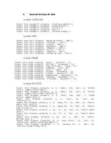Baze de Date - Proiect în SQL - Pagina 5