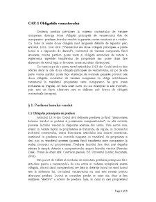 Efectele Contractului de Vanzare Cumparare - Pagina 4