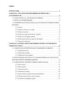 Studiul privind analiza și simularea automobilelor hibride - Pagina 1