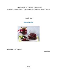Dulceata de cirese - Pagina 1