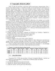 Compoziția chimică a făinii - Pagina 1