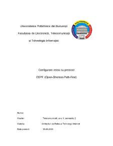 Retea cu protocol OSPF - Pagina 1