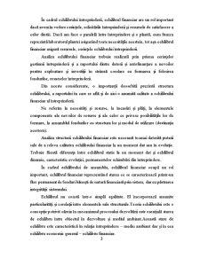 Analiza echilibrului financiar în cadrul SC Petrom - Pagina 3
