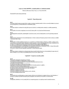 Regulament de Functionare - Pagina 1