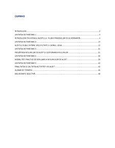 Auditul instituțiilor publice - Pagina 2