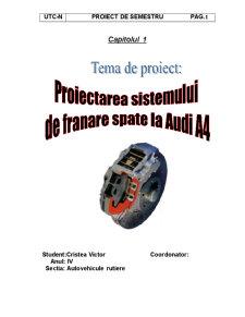 Sistem Franare Audi A4 - Pagina 3