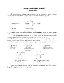 Acizi monocarboxilici - Nomenclatura si structura - Pagina 1