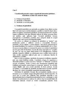 Organizarea justitiei - Pagina 1