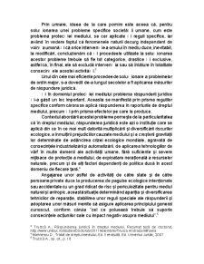Raspunderea juridica in dreptul mediului - Pagina 2