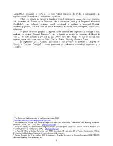 Combaterea criminalității organizate - Pagina 3