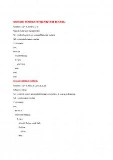 Programare evolutiva si algoritmi genetici - Pagina 1