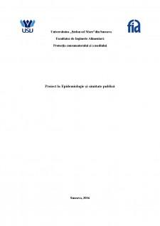 Epidemiologia bolilor provocate de Rickettsia - Pagina 1