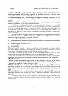 Modelarea proceselor ecologice - Pagina 2