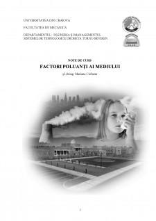 Factori poluanți ai mediului - Pagina 1