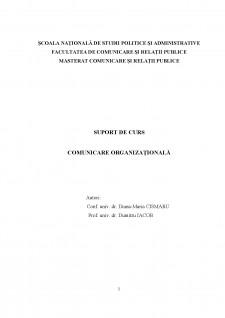 Comunicare organizațională - Pagina 1