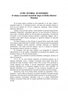 curs Istoria Economiei din 19 noiembrie 2013 - Pagina 1