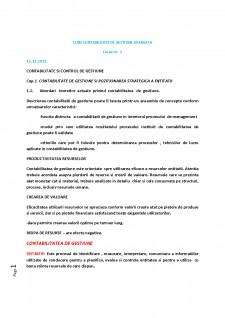 Contabilitate de gestiune avansata - Pagina 1