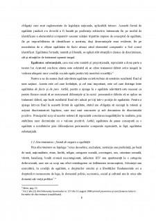 Egalitatea de tratament și principiul nondiscriminarii în dreptul muncii - Pagina 5