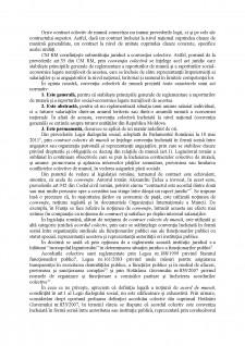 Notiunea, natura juridica si importanta contractului colectiv de munca - Pagina 2