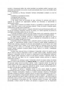 Notiunea, natura juridica si importanta contractului colectiv de munca - Pagina 3