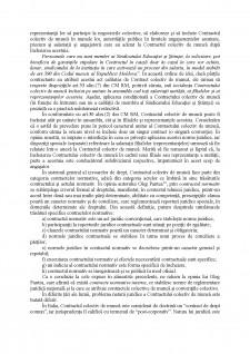 Notiunea, natura juridica si importanta contractului colectiv de munca - Pagina 4