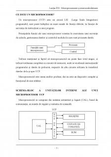 Descrierea structurii microprocesoarelor si a blocurilor sale functionale - Pagina 2