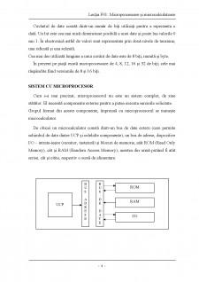 Descrierea structurii microprocesoarelor si a blocurilor sale functionale - Pagina 4