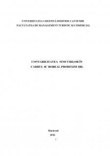 Contabilitatea stocurilor în cadrul SC Boreal Prodexim SRL - Pagina 2