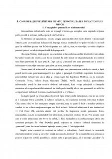 Personalitatea infractorului minor - Pagina 4