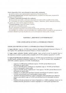 Legislație și accesul la informația publică - Pagina 1