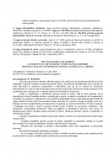 Legislație și accesul la informația publică - Pagina 2