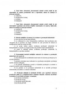 Test grila - Contabilitate - Pagina 2