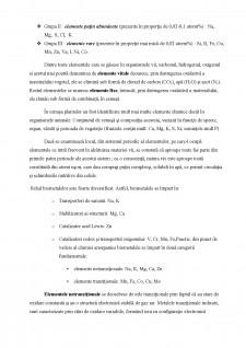 Rolul unor elemente chimice în sistemele biologice - Pagina 2