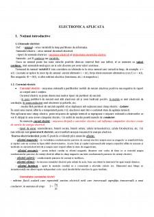 Electronică aplicată I - Pagina 1