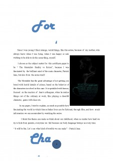 The mentalist - Reality vs fiction - Pagina 4