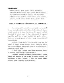 Agricultura Ramură a Producției Materiale - Pagina 2
