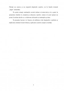 Protectia copilului in legislatia romana si internationala - Pagina 3